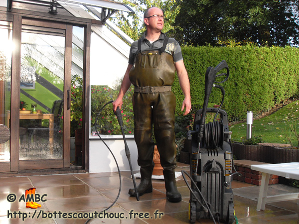 comment laver waders